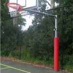 Basketball tower padding