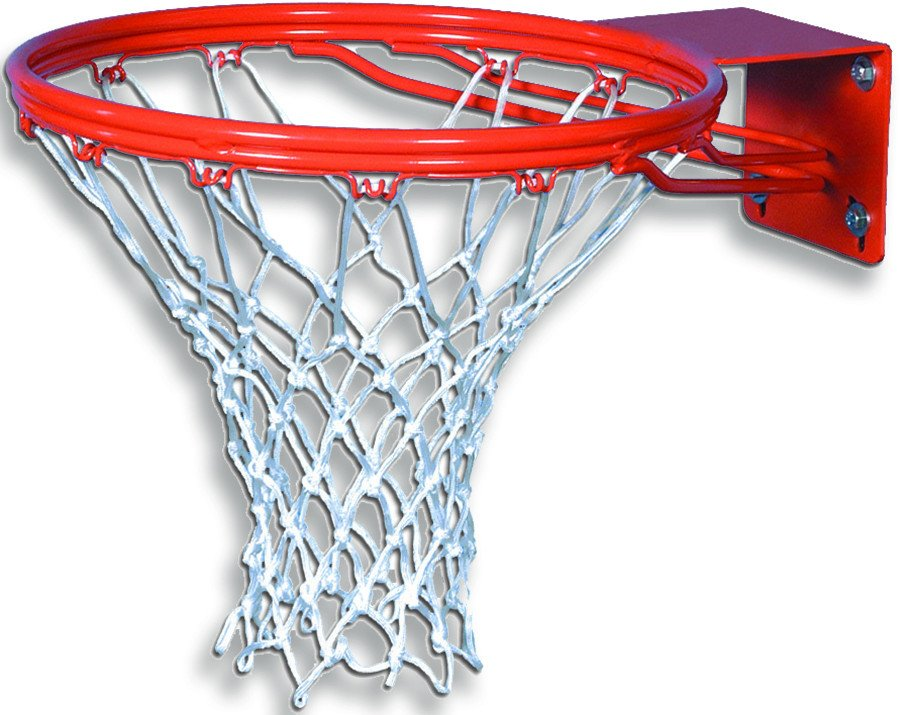 Institutional basketball goal