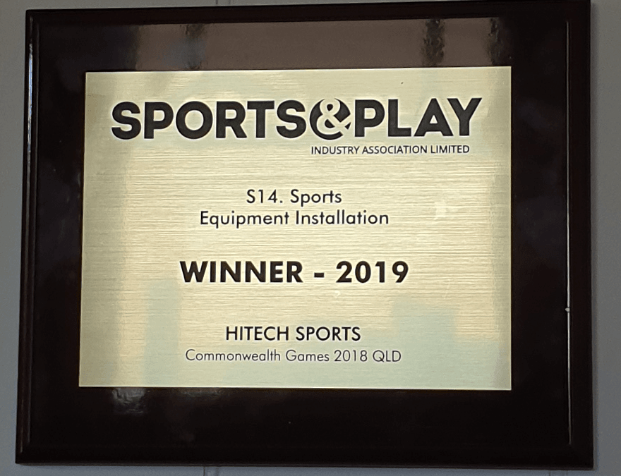 1st Place Hat-trick!     National Sports & Play Industry Awards 2017, 2018 & 2019.